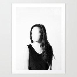 Faceless Art Print