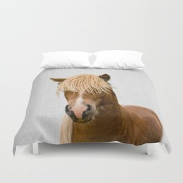 Horse - Colorful Duvet Cover