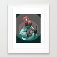 zoidberg Framed Art Prints featuring Dr. Zoidberg by Dojo