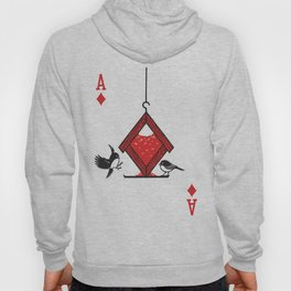 Clipped Wings Deck: The Ace of Diamonds Hoody