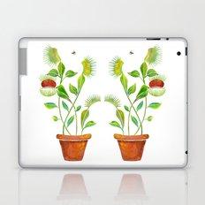 Venus Fly Trap Watercolor Laptop & iPad Skin