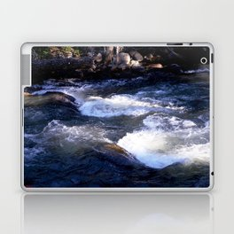 Morning Sun on the Rapids of Vallecito Creek, No. 1 of 2 Laptop & iPad Skin