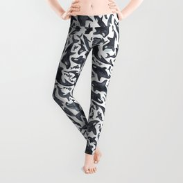 Whale, Orca Leggings