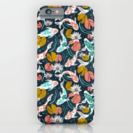 Koi Pond - Pink iPhone Case