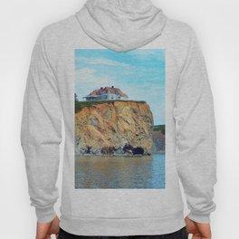 Cliffs of Perce Quebec Hoody