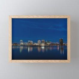 Norfolk Skyline II Framed Mini Art Print