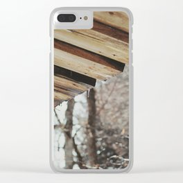 Attersee (2) Clear iPhone Case