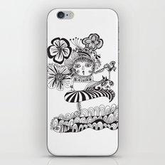 Chill Lady iPhone & iPod Skin