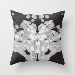 Rorschach Inkblot Test Throw Pillow