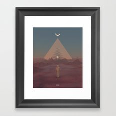 Lost Astronaut Series #01 - Enter the Void Framed Art Print