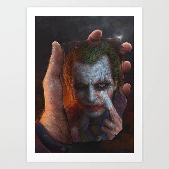 The Joke Art Print