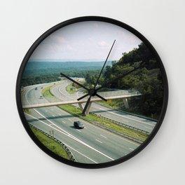 Interstate 68 1 Wall Clock