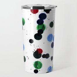 Ink Blots Travel Mug