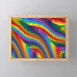 Spicy Rainbow Framed Mini Art Print