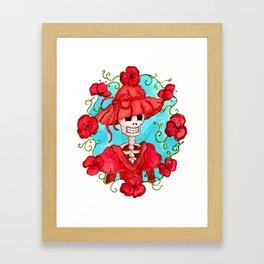 Catrina Doña Carlota Framed Art Print