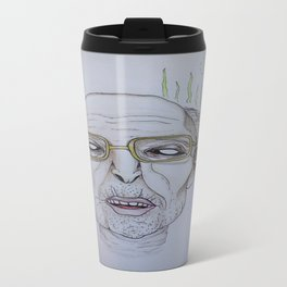 """He swims with the fishes"" -The Godfather Metal Travel Mug"