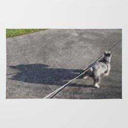 Schnauzer Shadow  Rug