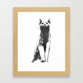 marci Framed Art Print