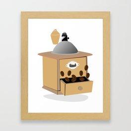 coffee grinder Framed Art Print