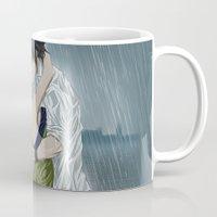 arya Mugs featuring Gruvia - Rain by Arya