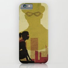 Who is the man in the bowler? Superheroes SF iPhone 6s Slim Case