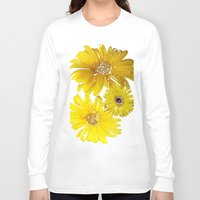 daisies Long Sleeve T-shirts featuring Daisies by Regan's World