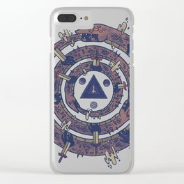 The Cycle Clear iPhone Case