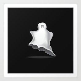 White ghost Art Print