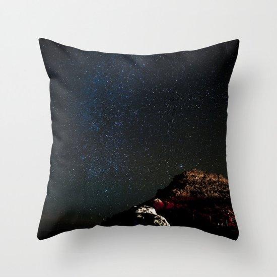 Stars in Maui Throw Pillow