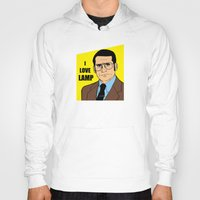 will ferrell Hoodies featuring I love lamp - Brick Tamland by Buby87