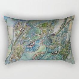 Ocean Botanical Rectangular Pillow