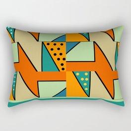 Abstract construction Rectangular Pillow