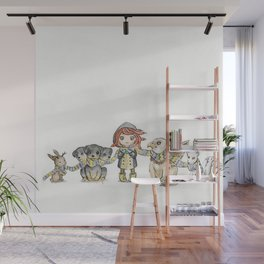 Holiday Wall Mural
