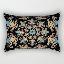 Turkish tulip - Ottoman tile 4 Rectangular Pillow