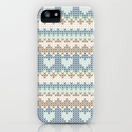 knitting iPhone Case