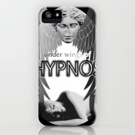 Under wings of Hypnos iPhone Case
