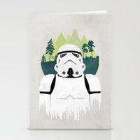 stormtrooper Stationery Cards featuring Stormtrooper by Robert Scheribel