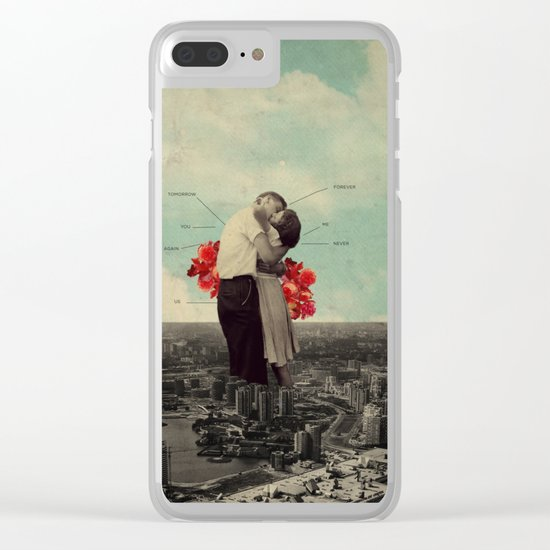 NeverForever Clear iPhone Case