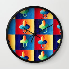 Baby Soothers Wall Clock