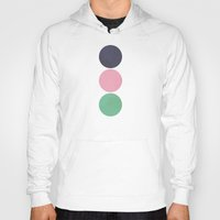 circles Hoodies featuring Circles by Alisa Galitsyna