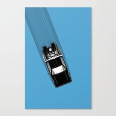 Back To The Future - DeLorean Canvas Print