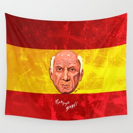 Pablo Picasso Remixed Wall Tapestry