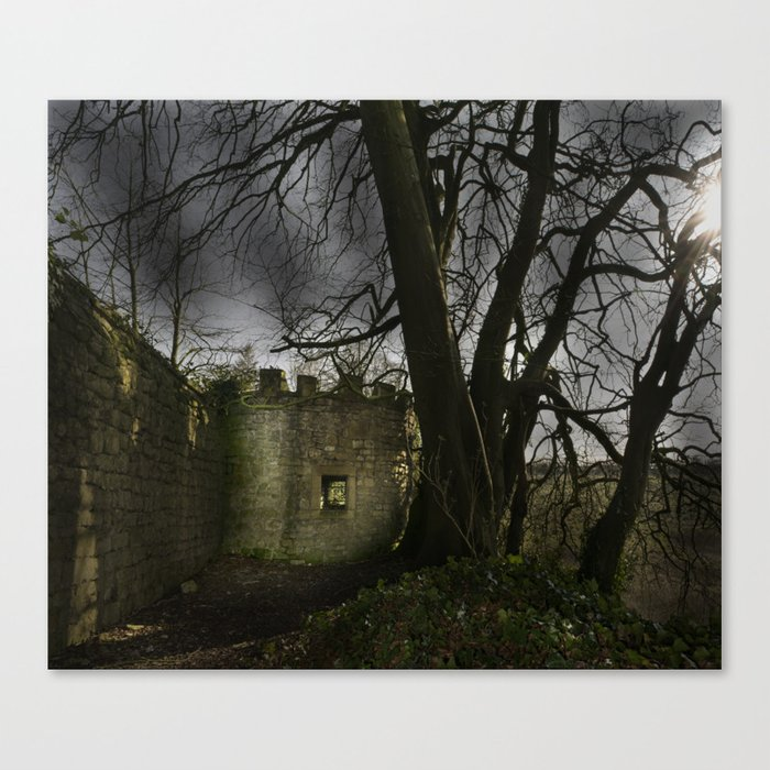 Castles in my Mind Canvas Print