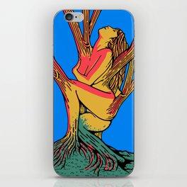 sleeping forest iPhone Skin