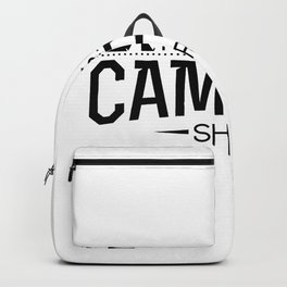 This Is My Camping Funny Gifts Backpack