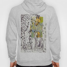 Mother and Child Cheetah Hoody