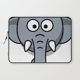 Cute Elephant Head Laptop Sleeve