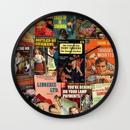 Pulp Fiction 5 Wall Clock