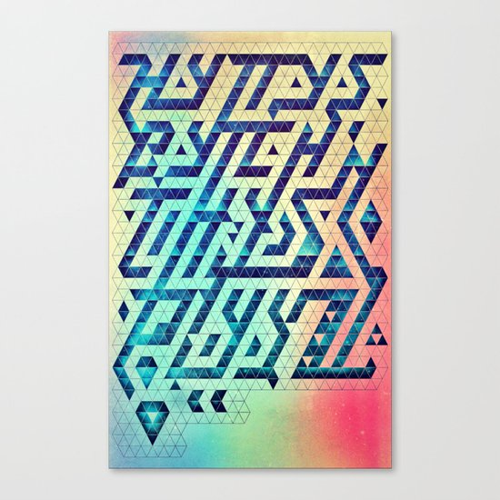 hyttys bytch 'n thys plyyz Canvas Print