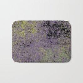 Darkened Sky - Textured, abstract painting Bath Mat